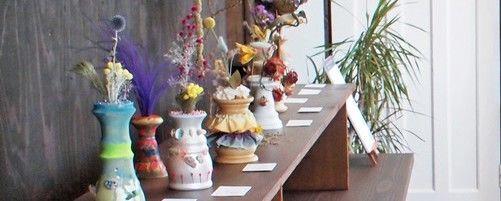 日々の暮らしに小さな刺激を 書斎カフェ『coconie』で企画展「みんなのおとがする」開催中