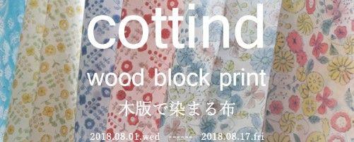 小さなストーリーを持ち歩くように 射水市大島絵本館で「cottind 木版で染まる布」が開催中