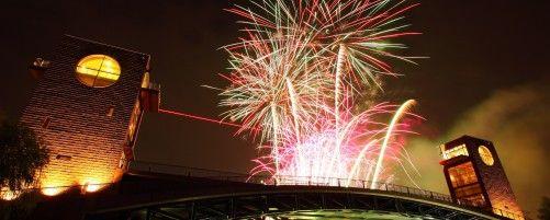 明日開催!約1,600発の花火が夏の夜空に咲き誇る 「環水公園夏まつり2018」