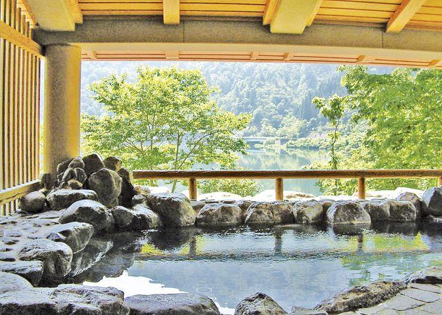 冬の半額湯めぐり! 富山・石川・岐阜の25湯が5回まで半額に♪