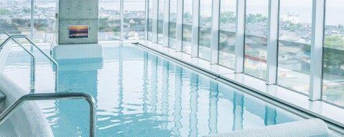 【富山の日帰り温泉】富山湾と立山連峰を眺められる展望温浴施設、滑川市「あいらぶ湯」で湯めぐり気分♪